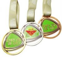 Buy cheap Medal Zinc Alloy Medal and Ribbon from wholesalers