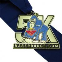 """Buy cheap Medal 3"""" Gold Plated 5K Medals from wholesalers"""