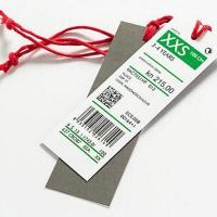 Quality Anti-theft label Price and barcode tag for sale