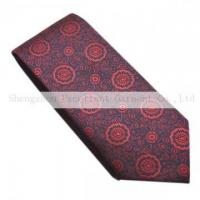 Buy cheap 100% silk products 100% silk woven necktie S51205WY from wholesalers