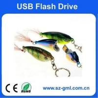Buy cheap 2GB Plastic fish USB flash drive from wholesalers