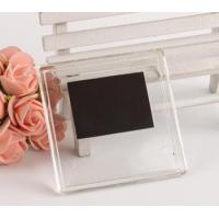Buy cheap PS acrylic blank fridge magnet mini photo frame with magnets picture inserted from wholesalers