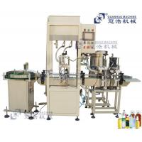 Quality cap production line automatic 2 head gravity filling and capping for sale