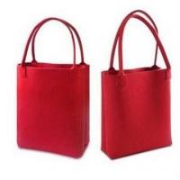 Buy cheap Fashionable felt tote bags from wholesalers