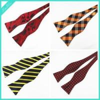Buy cheap Wholesale Cheap Checked Self Bow Tie from wholesalers