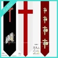 Buy cheap Customized Printed Polyester Necktie For Christian from wholesalers