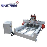 Quality 4 Spindles CNC Router for Cylinder Material, Table Leg,with Rotary Device for sale