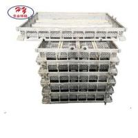 Investment heat treatment furnace tray