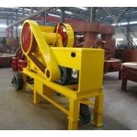 Quality Small Diesel Engine Jaw Stone Crusher for sale