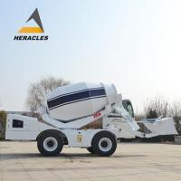Buy cheap self loading machine concrete mixer 4m3 with 4108 Yuchai engine from wholesalers