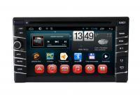 Buy cheap Flip-down Indash DVD Player 7 Touchscreen Single DIN Android Stereo Receiver System F-7104 from wholesalers