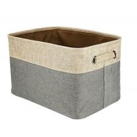Buy cheap Storage Baskets Foldable Canvas Fabric Storage from wholesalers