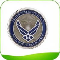 Quality Wholesale Custom Military Challenge Coins Gold Silver Coins for sale