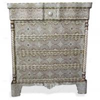 Chests Style no. CD161 - Mother of pearl Chest.