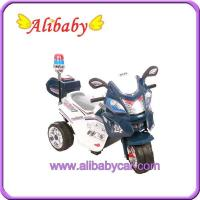 Quality T00757 police toy Motorcycle for child Electric bike for sale