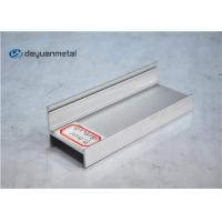 Quality Silver Anodized Decoration Aluminium Profile For Furniture for sale