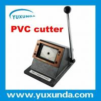 Quality Top Guality Manuel Easy Operate PVC card cutter/cutting machine for sale