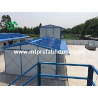 Quality Prefabricated house with Roof reinforced for dormitory for sale