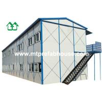 Quality Prefabricated house with Two storey for Dormitory for sale