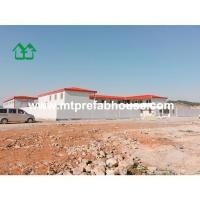 "Quality Four slope prefab house U"" type for office for sale"