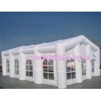 China White inflatable wedding party tent for outdoor evening on sale