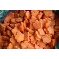 China IQF Vegetable Frozen Carrot Diced Slice on sale