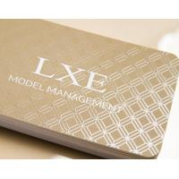 Quality classic business card with spot UV craft - for sale