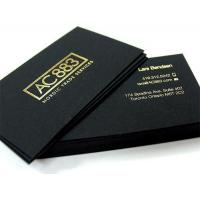 Quality Black business card for sale