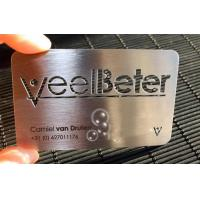 Quality metal material business cards for sale