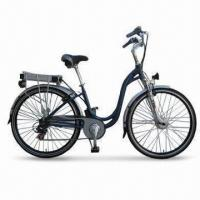 Quality 36V/250W Electric Bike with Half Twist 7SP Shifter and Maximum Speed of 26kph for sale